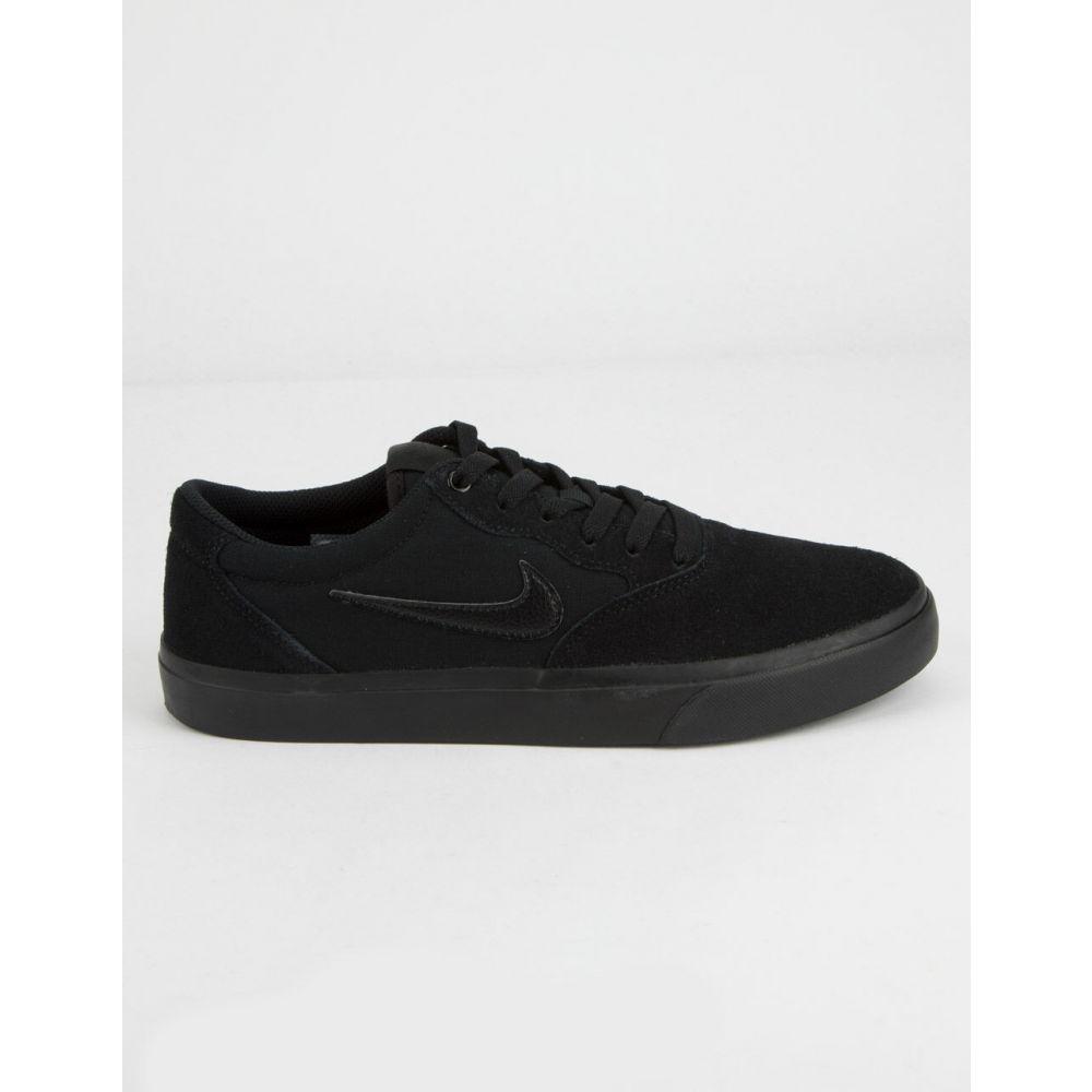 ナイキ NIKE SB メンズ スニーカー シューズ・靴【Chron SLR Black Shoes】BLACK/BLACK