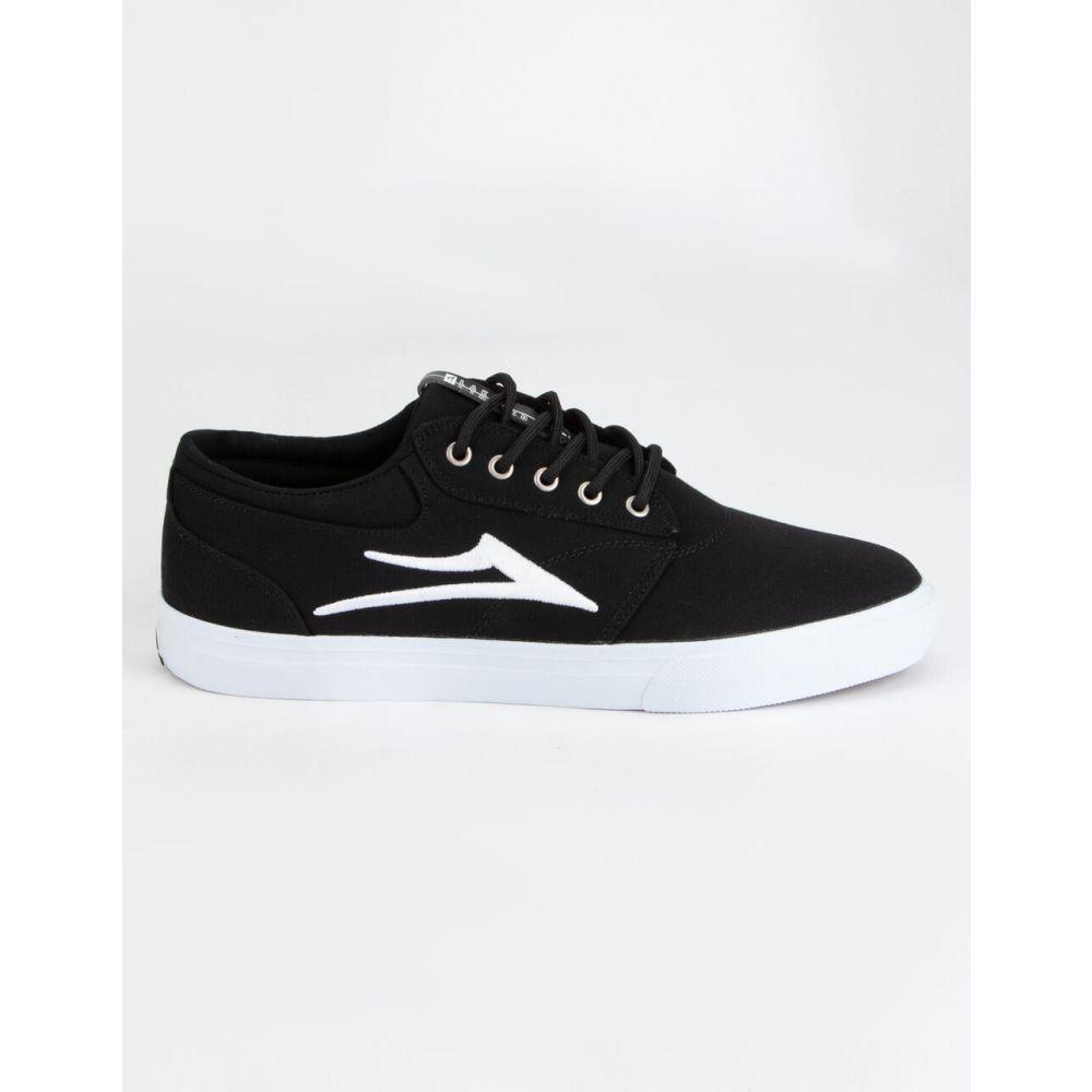 ラカイ LAKAI メンズ スニーカー シューズ・靴【Griffin Black & White Canvas Shoes】BLACK