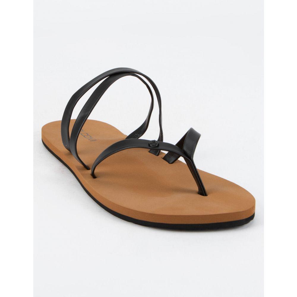 ボルコム VOLCOM レディース サンダル・ミュール シューズ・靴【Easy Breezy II Black Sandals】BLACK