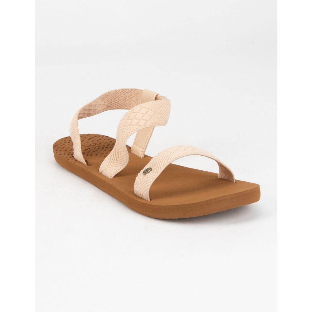 リップカール RIP CURL レディース サンダル・ミュール シューズ・靴【P-Low Paradise Natural Sandals】NATURAL