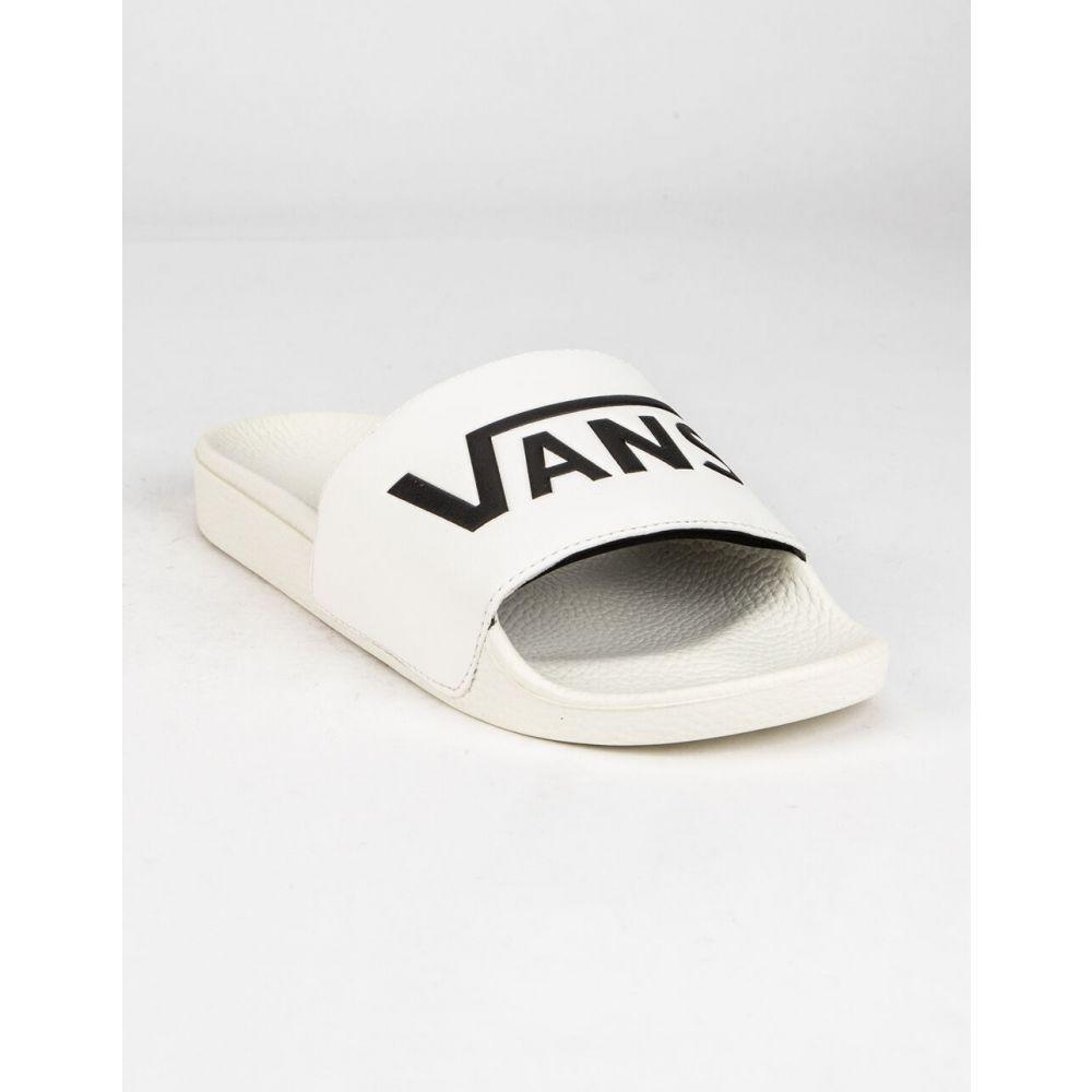 ヴァンズ VANS レディース サンダル・ミュール シューズ・靴【Slide-On Sandals】WHITE