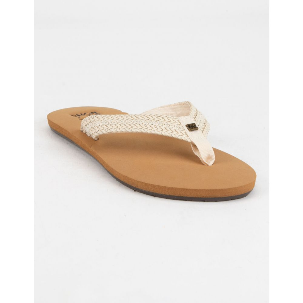 ビラボン BILLABONG レディース サンダル・ミュール シューズ・靴【Kai Natural Sandals】NATURAL