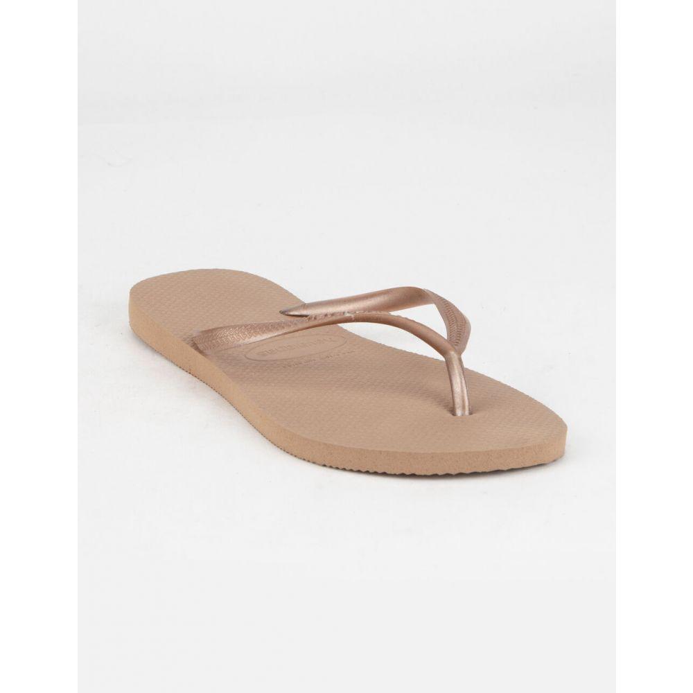ハワイアナス HAVAIANAS レディース サンダル・ミュール シューズ・靴【Slim Rose Sandals】ROSE
