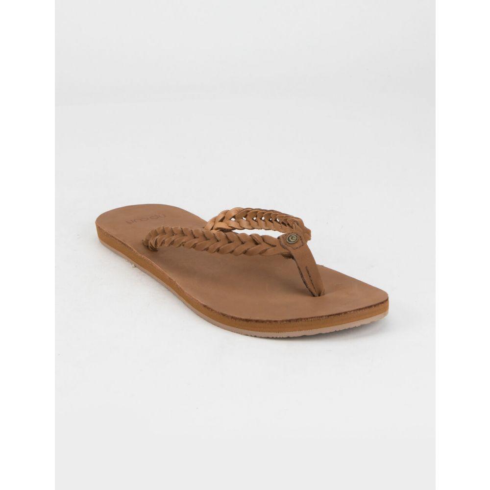 リップカール RIP CURL レディース サンダル・ミュール シューズ・靴【Riviera Maya Sandals】BROWN
