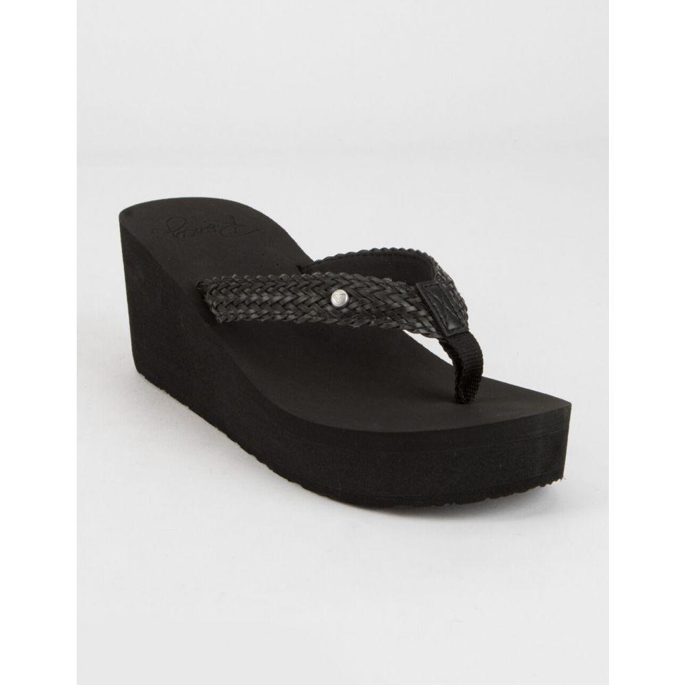 ロキシー ROXY レディース サンダル・ミュール シューズ・靴【Mellie III Sandals】BLACK