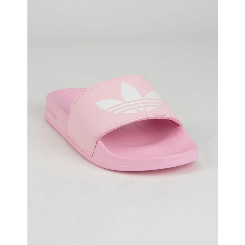 アディダス ADIDAS レディース サンダル・ミュール シューズ・靴【Adilette Lite Pink Slide Sandals】PINK
