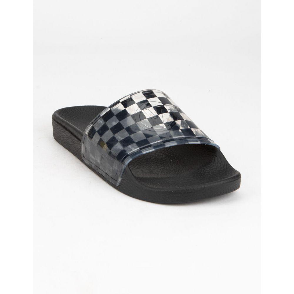 ヴァンズ VANS レディース サンダル・ミュール シューズ・靴【Zoe Slide-On Sandals】BLACK/CLEAR