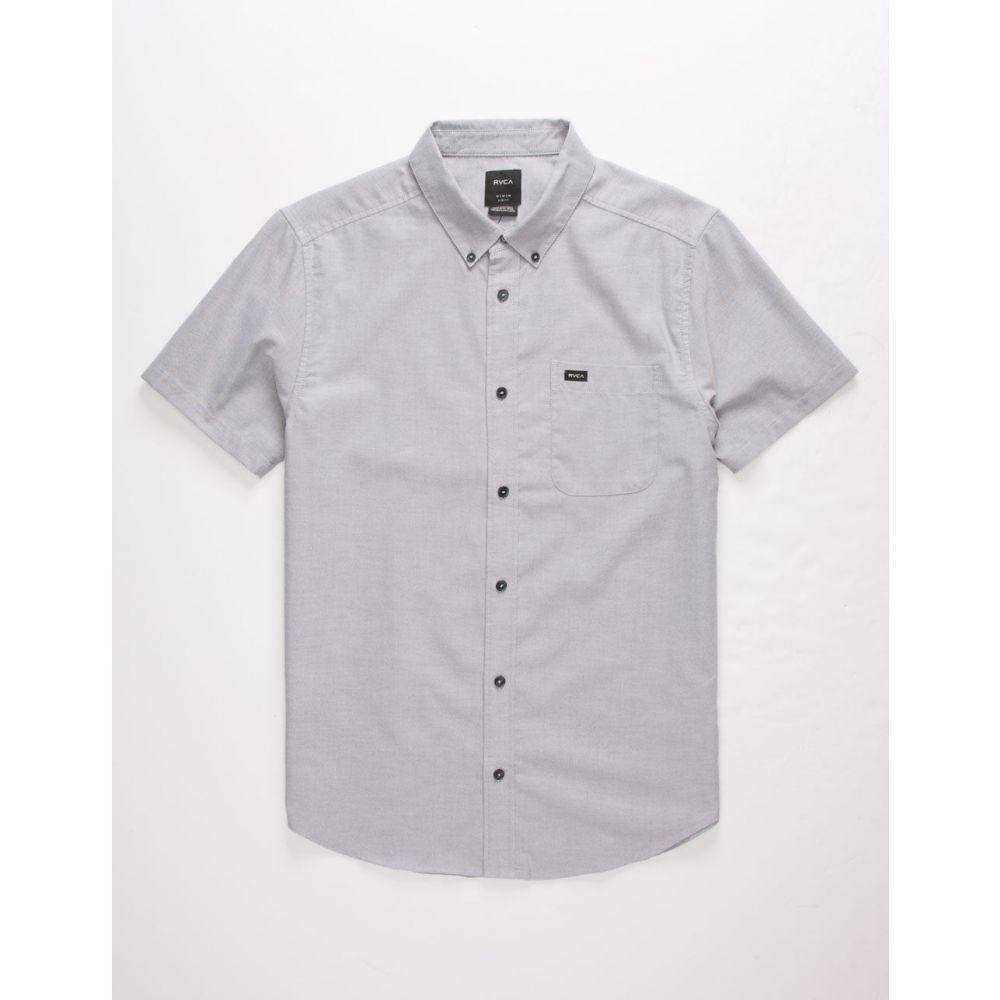 ルーカ RVCA メンズ シャツ トップス【That'll Do Stretch Mint Button Up Shirt】CHARCOAL