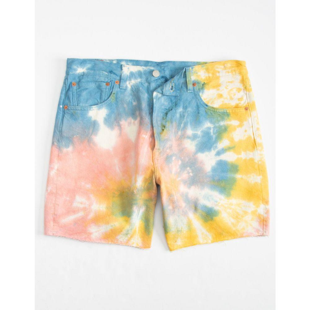 リーバイス LEVI'S メンズ ショートパンツ デニム ボトムス・パンツ【93 Cut Off Tie Dye Denim Shorts】RAINB