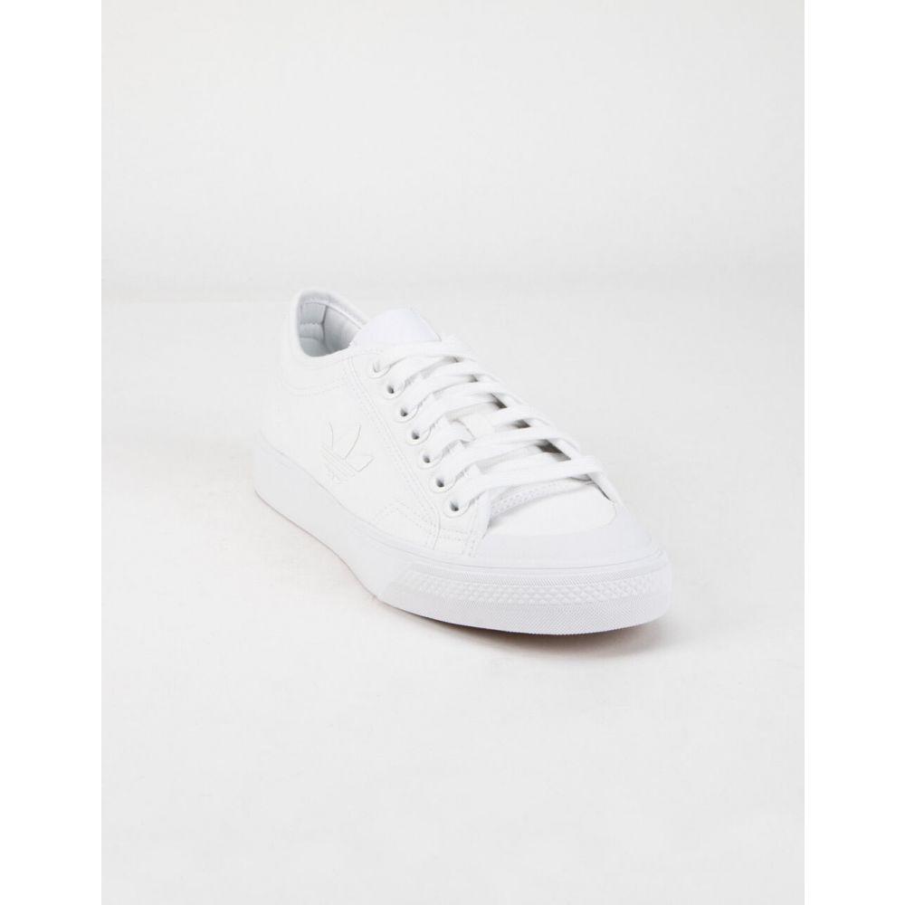 アディダス ADIDAS レディース スニーカー シューズ・靴【Nizza Trefoil White Shoes】WHITE