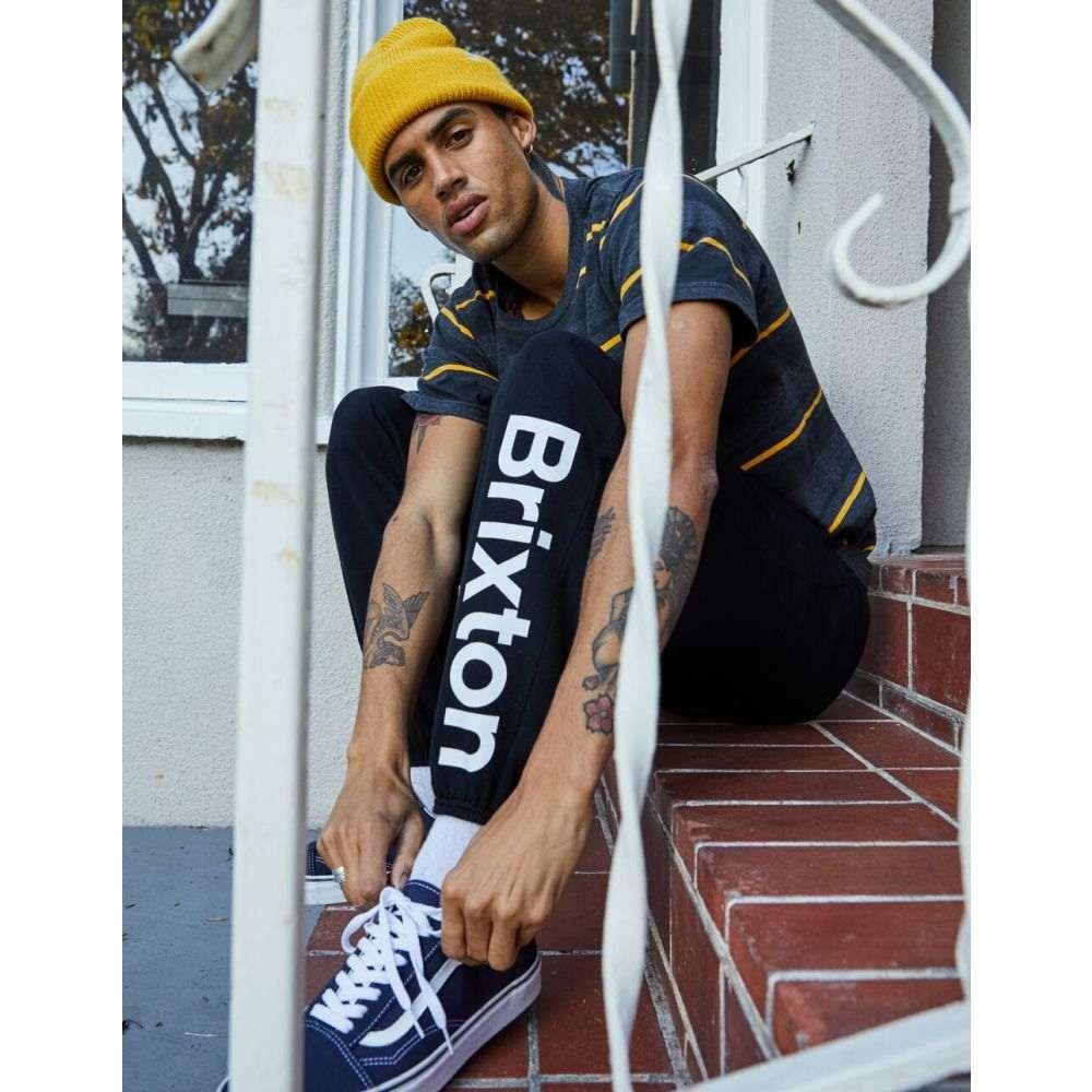 ブリクストン BRIXTON メンズ スウェット・ジャージ ボトムス・パンツ【Palmer Sweatpants】BLACK