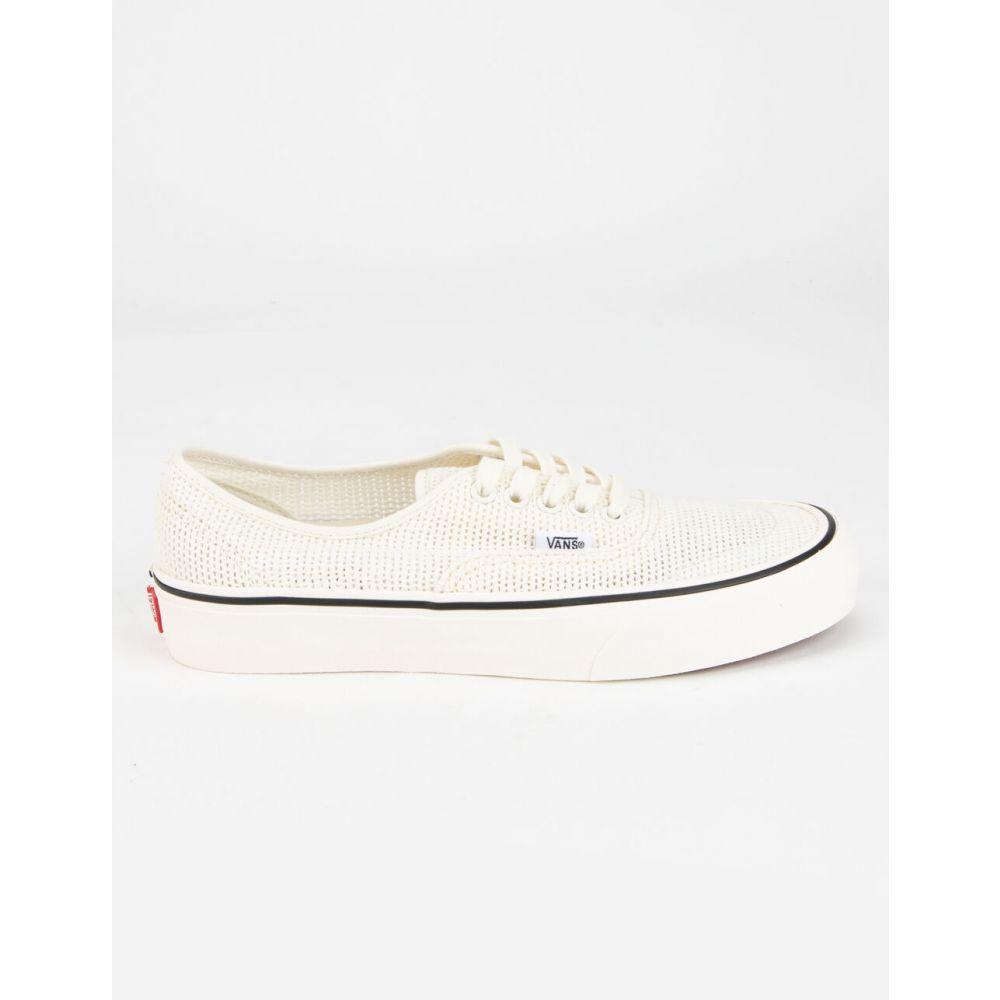 ヴァンズ VANS レディース スニーカー シューズ・靴【Authentic Mesh SF Shoes】WHITE