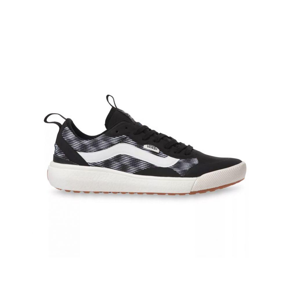 ヴァンズ VANS レディース スニーカー シューズ・靴【Blur Checker Ultrarange EXO Shoes】BLACK/MARSHMALLOW