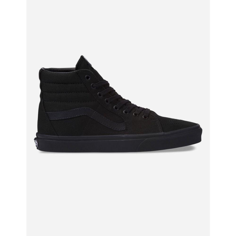 ヴァンズ VANS レディース スニーカー シューズ・靴【Canvas Sk8-Hi Black Shoes】BLACK
