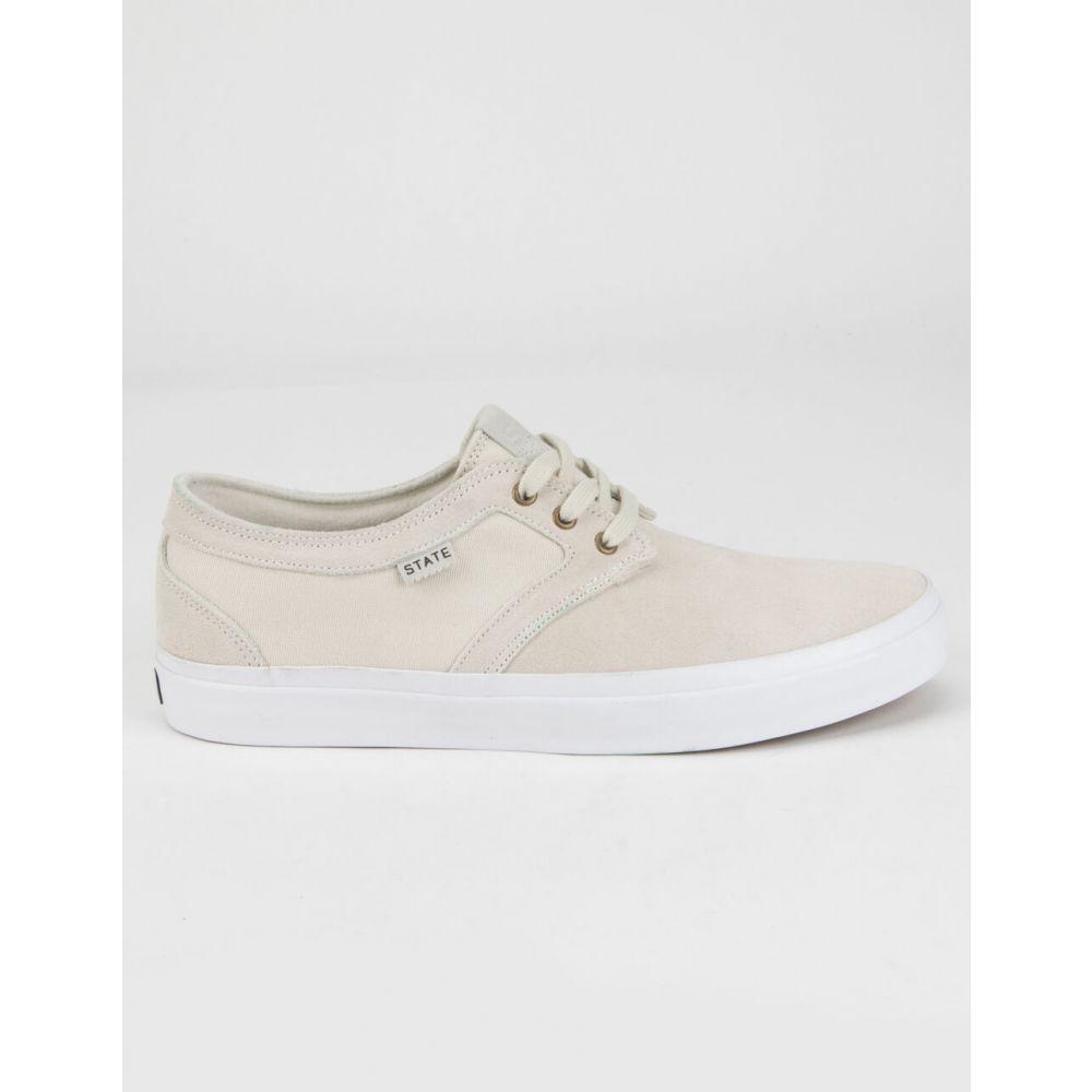 ステイト STATE FOOTWEAR メンズ スニーカー シューズ・靴【Bishop Shoes】OFF WHITE