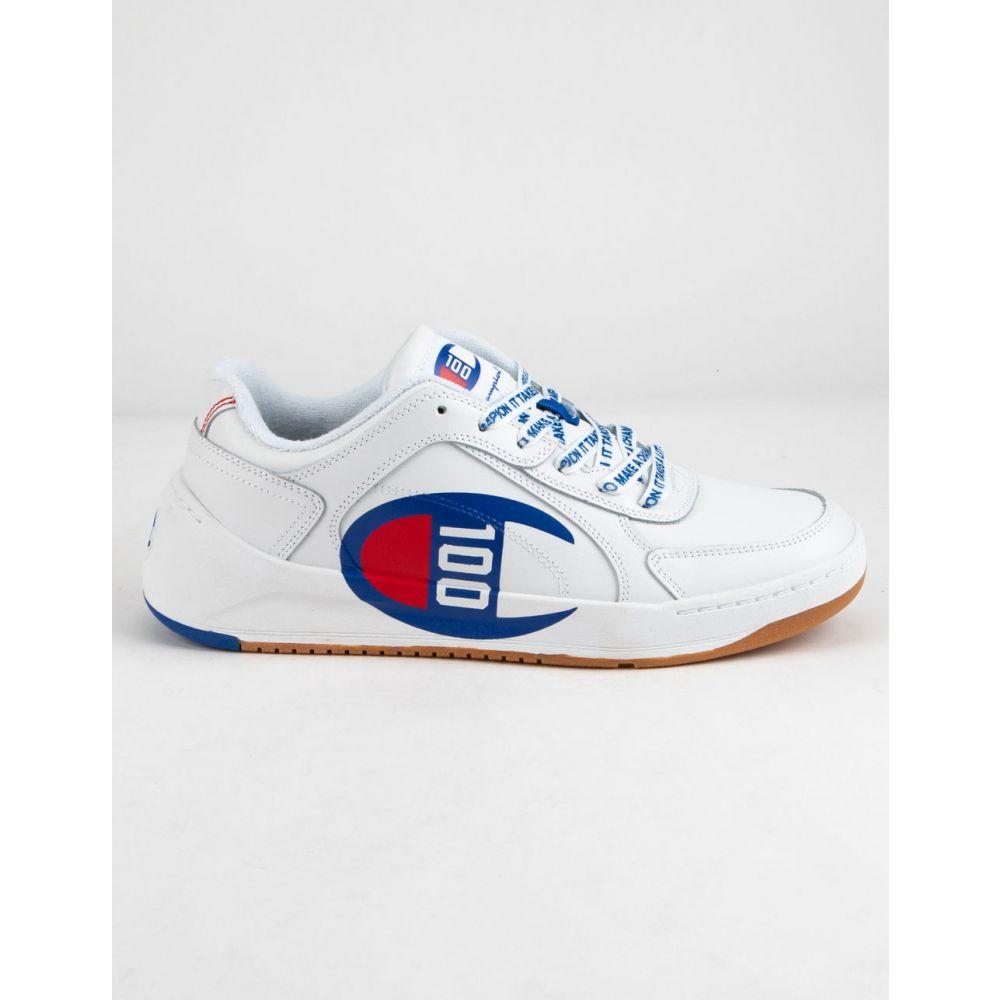 チャンピオン CHAMPION メンズ スニーカー シューズ・靴【Super C Court Low 100 White Shoes】WHITE