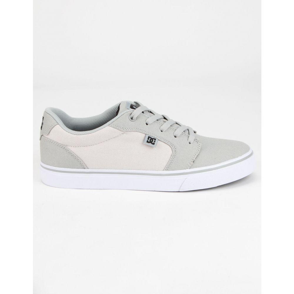 ディーシー DC SHOES メンズ スニーカー シューズ・靴【Anvil TX Gray Shoes】GRAY