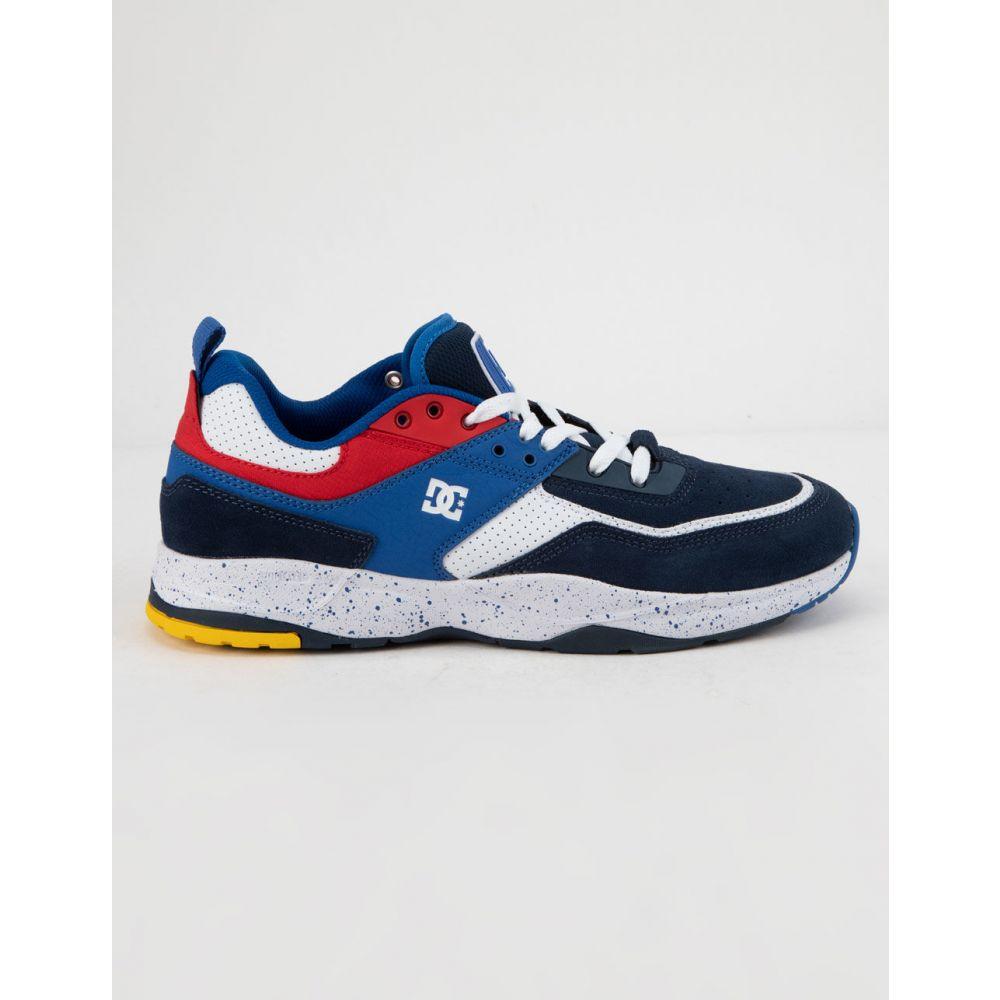 ディーシー DC SHOES メンズ スニーカー シューズ・靴【E. Tribeka SE Blue & Red Shoes】BLUE/RED