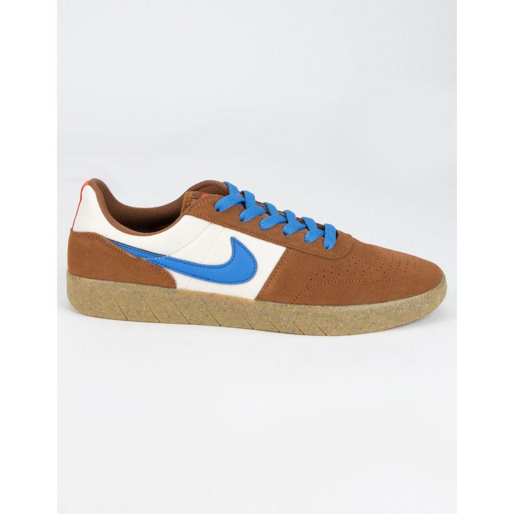 ナイキ NIKE SB メンズ スニーカー シューズ・靴【Team Classic Brown & Blue Shoes】BROWN/BLUE
