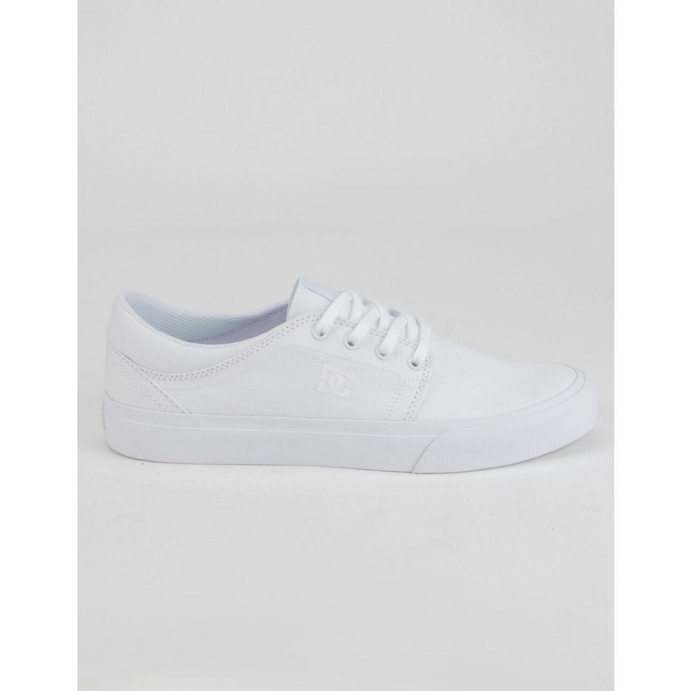 ディーシー DC SHOES メンズ スニーカー シューズ・靴【Trase TX Shoes】WHITE