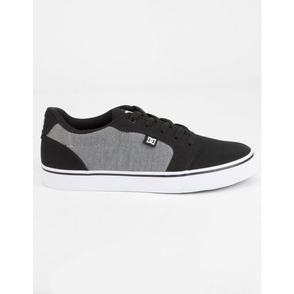 ディーシー DC SHOES メンズ スニーカー シューズ・靴【Anvil TX SE Black Combo Shoes】BLACK COMBO