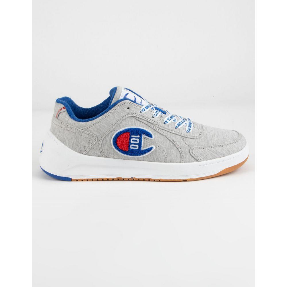 チャンピオン CHAMPION メンズ スニーカー シューズ・靴【Super C Court Low 100 Oxford Gray Shoes】OXFORD GRAY