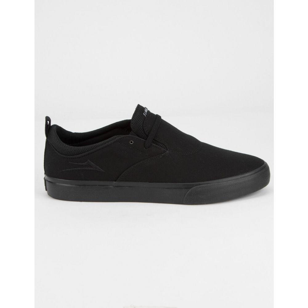 ラカイ LAKAI メンズ スニーカー シューズ・靴【Riley Hawk 2 Black Canvas Shoes】BLACK/BLACK