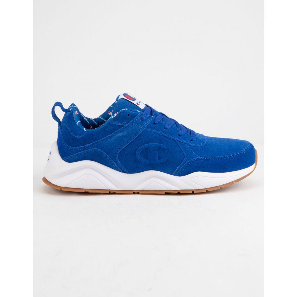 チャンピオン CHAMPION メンズ スニーカー シューズ・靴【93Eighteen Big C Blue Shoes】BLUE