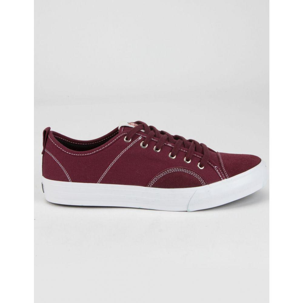 ステイト STATE FOOTWEAR メンズ スニーカー シューズ・靴【Harlem Shoes】MAROON