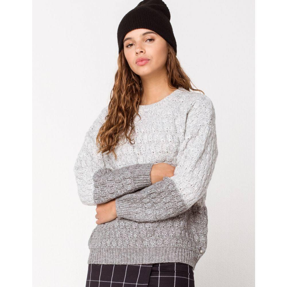 ロキシー ROXY レディース ニット・セーター トップス【Polaroid Girl Sweater】GRAY