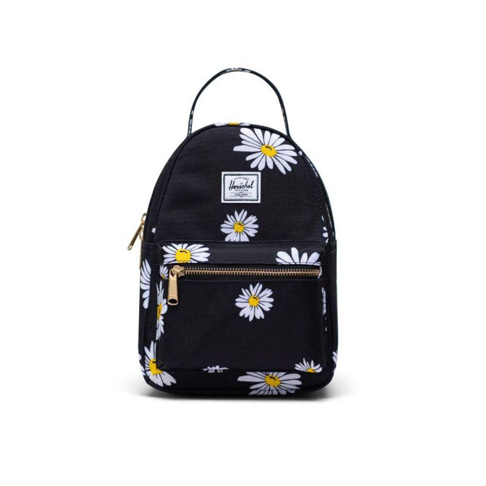 ハーシェル サプライ HERSCHEL SUPPLY CO. レディース バックパック・リュック バッグ【Nova Daisy Mini Backpack】BLACK COMBO