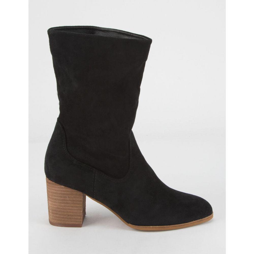 ビーストファッション BEAST FASHION レディース ブーツ ブーティー シューズ・靴【Ankle Slouch Booties】BLACK