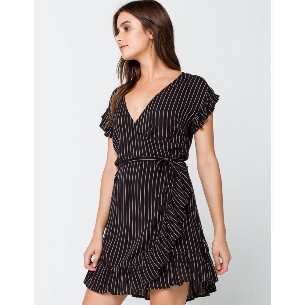 ビラボン BILLABONG レディース ワンピース ラップドレス ワンピース・ドレス【Wrap And Roll Wrap Dress】BLACK