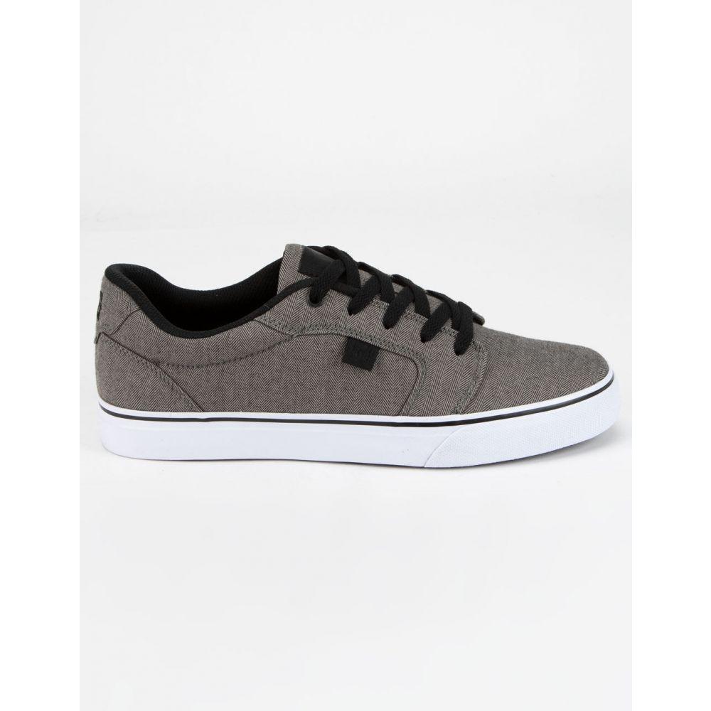 ディーシー DC SHOES メンズ スニーカー シューズ・靴【Anvil TX SE Gray & Black Shoes】GRAY/BLACK