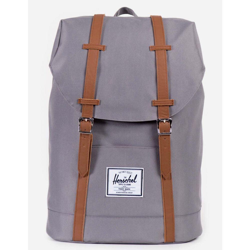 ハーシェル サプライ HERSCHEL SUPPLY CO. レディース バックパック・リュック バッグ【Retreat Grey & Tan Backpack】GREY/TAN