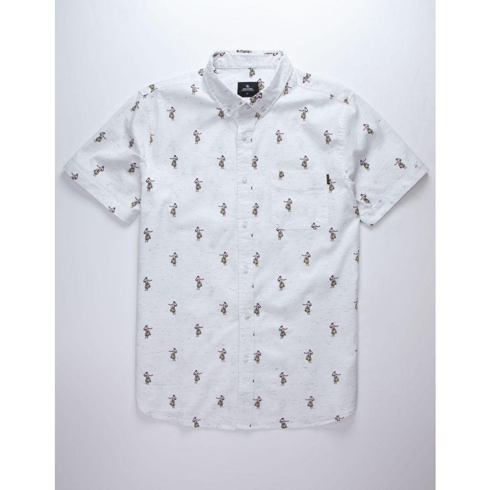 リップカール RIP CURL メンズ シャツ トップス【Breach White Shirt】WHITE