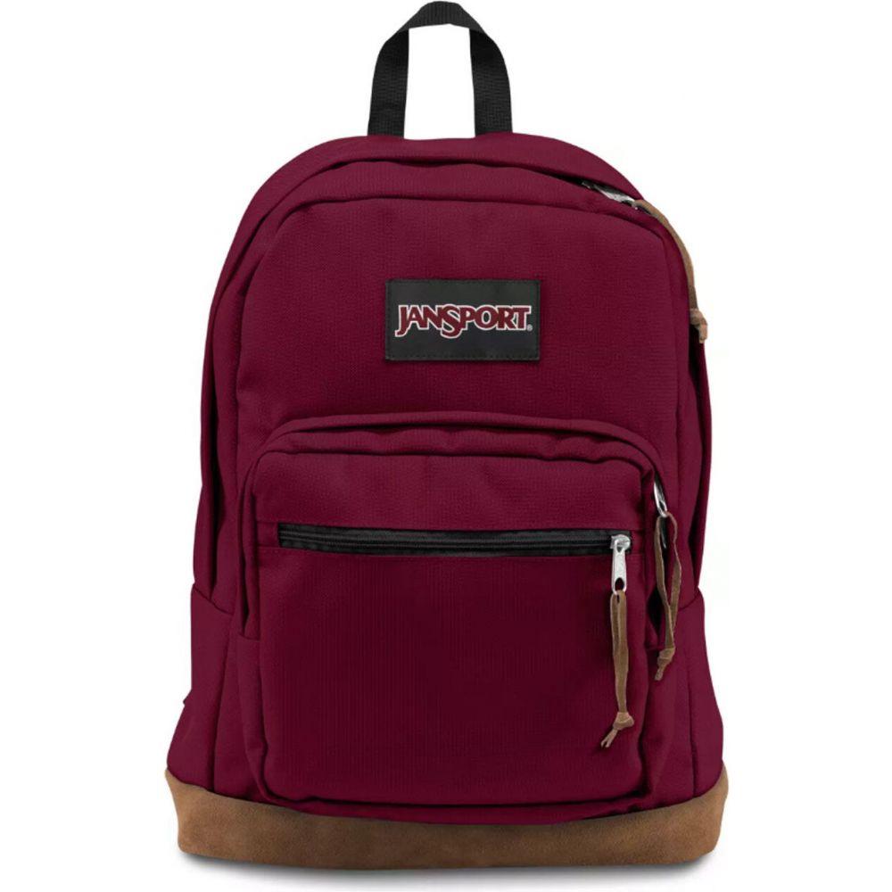 ジャンスポーツ JANSPORT レディース バックパック・リュック バッグ【Right Pack Red Backpack】BURGUNDY