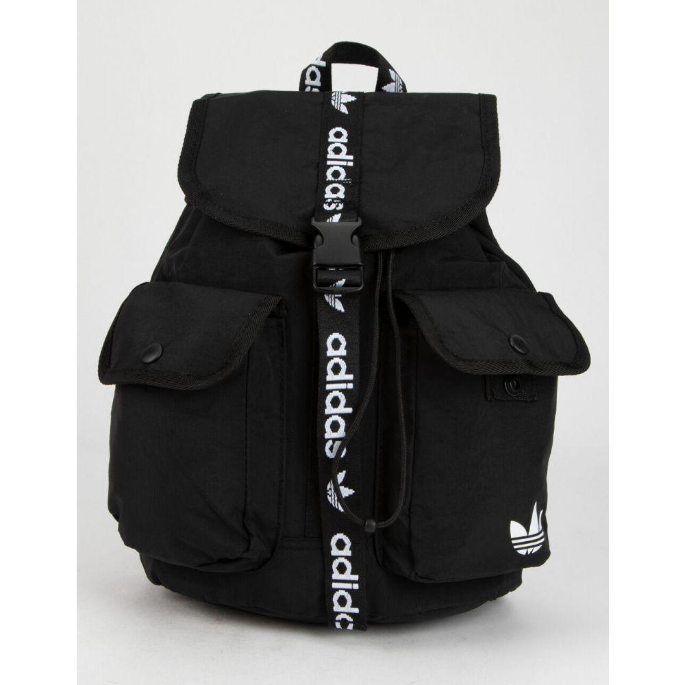 アディダス ADIDAS レディース バックパック・リュック バッグ【Originals Utility Mini Backpack】BLACK/WHITE