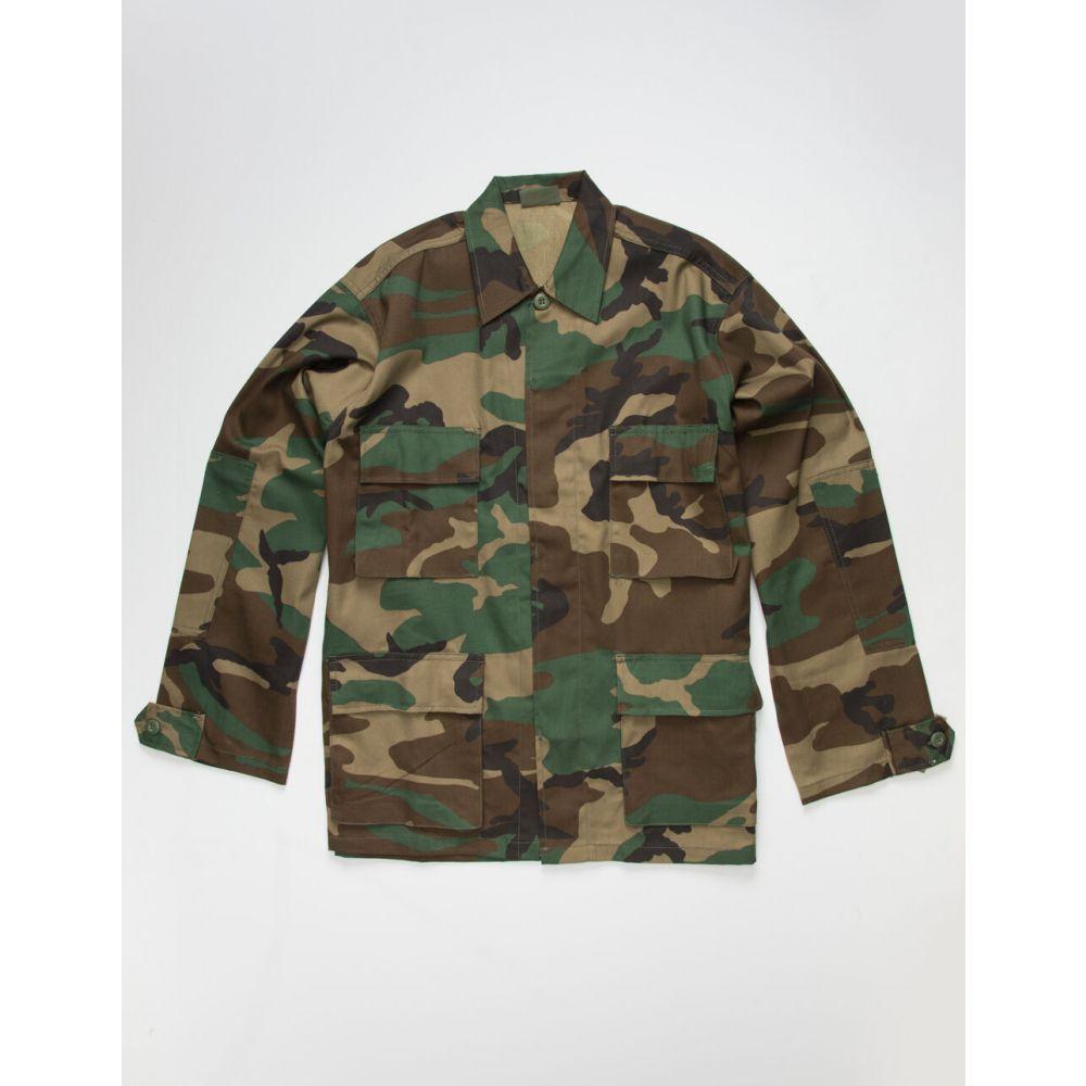 ロスコ ROTHCO メンズ シャツ トップス【Rip-Stop BDU Camo Shirt】CAMO