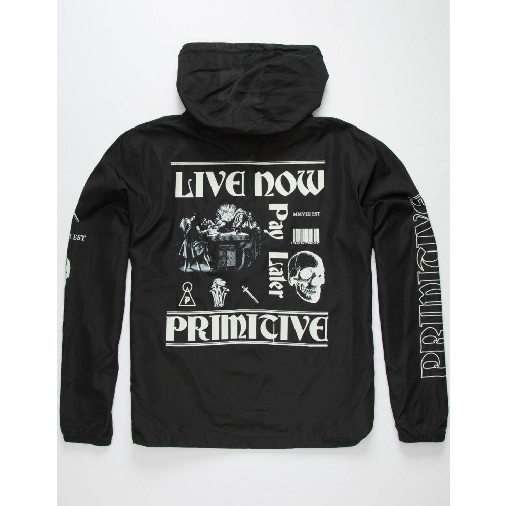 プリミティブ PRIMITIVE メンズ ジャケット アノラック アウター【Founders Anorak Jacket】BLACK