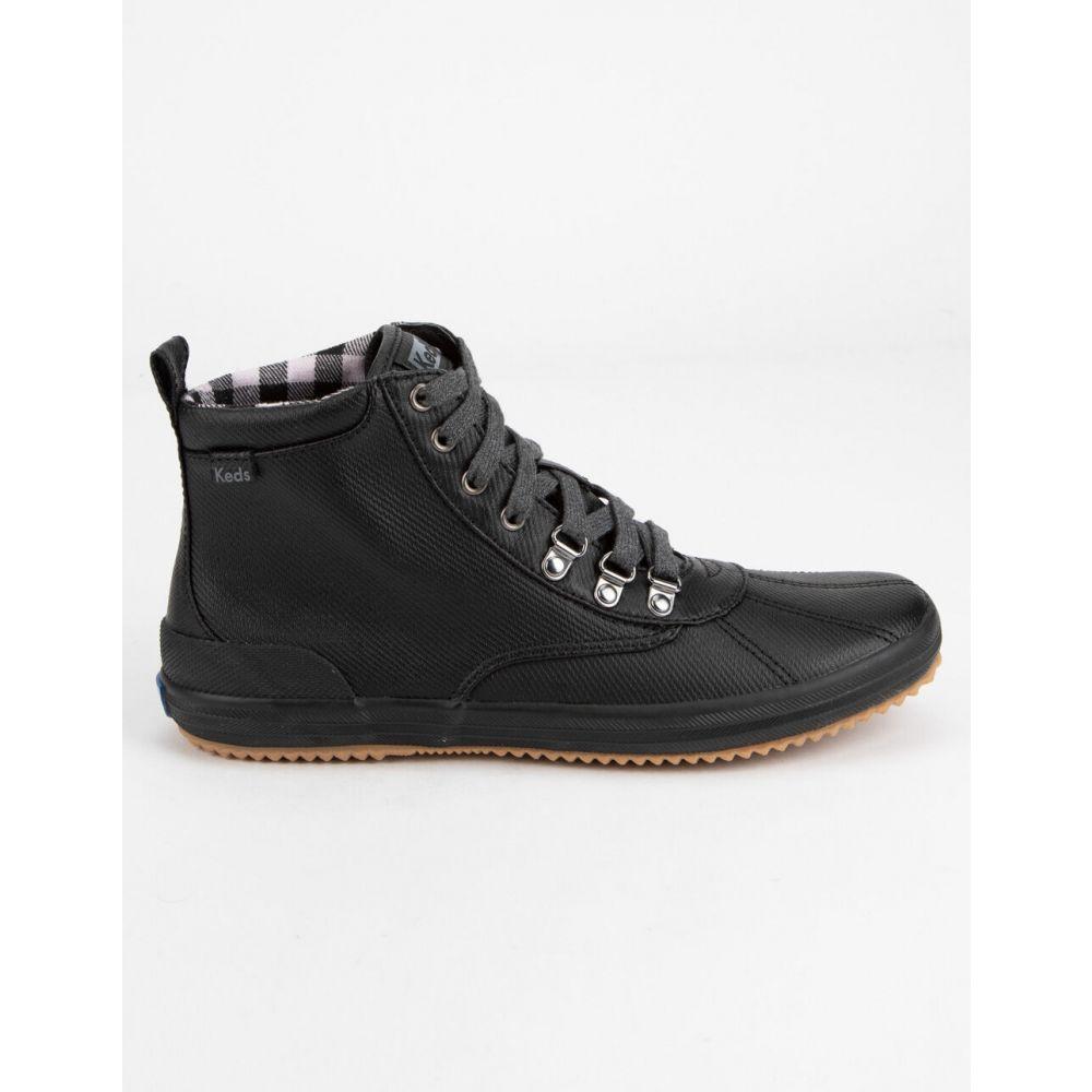 ケッズ KEDS レディース ブーツ シューズ・靴【Scout Water-Resistant Black Boots】BLACK
