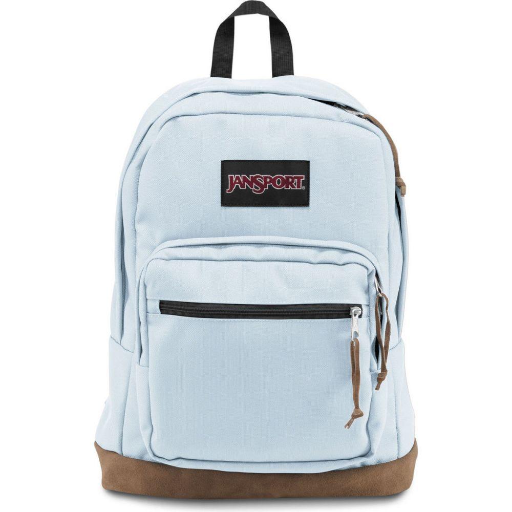ジャンスポーツ JANSPORT レディース バックパック・リュック バッグ【Right Pack Palest Baby Blue Backpack】BABY BLUE