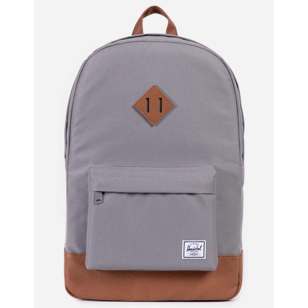 ハーシェル サプライ HERSCHEL SUPPLY CO. レディース バックパック・リュック バッグ【Heritage Gray & Tan Backpack】GREY/TAN
