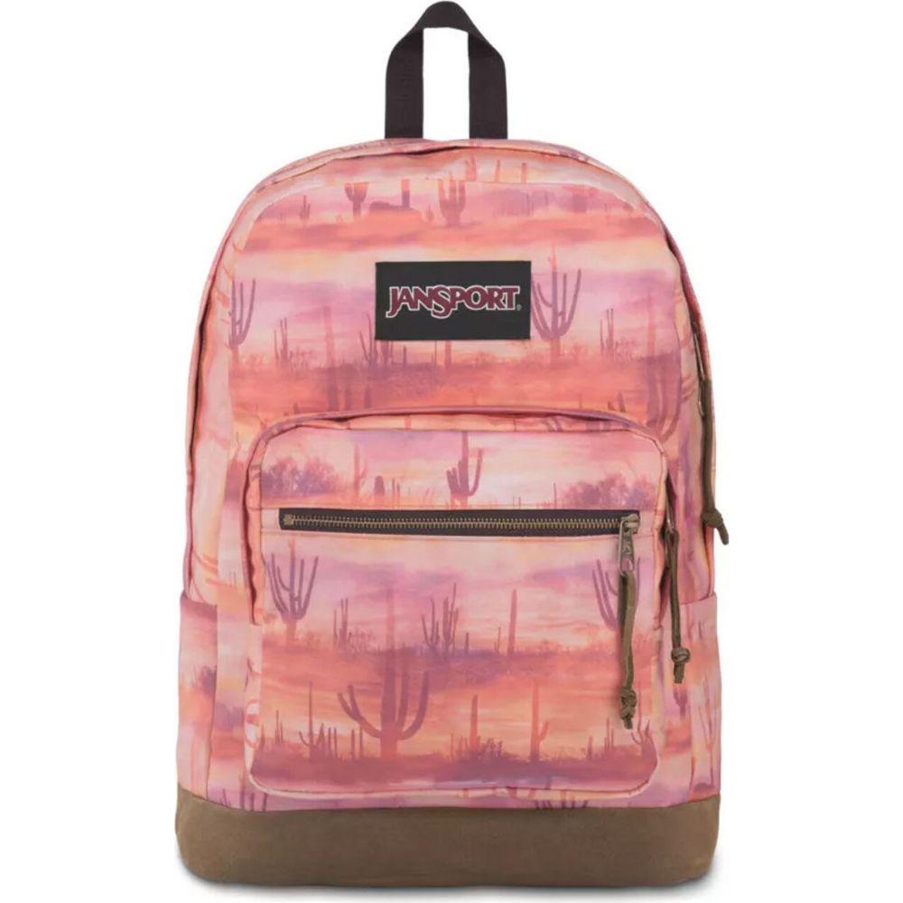 ジャンスポーツ JANSPORT レディース バックパック・リュック バッグ【Right Pack Desert Valley Backpack】PINK
