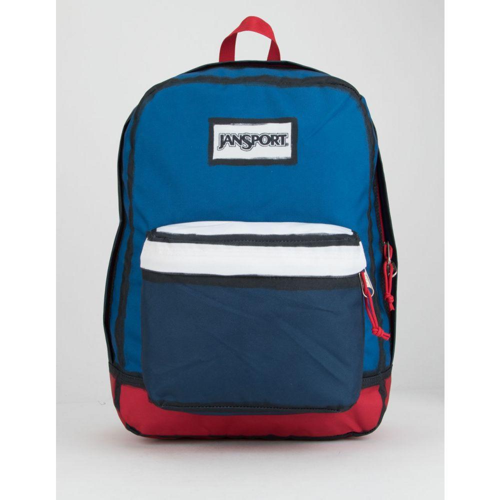 ジャンスポーツ JANSPORT レディース バックパック・リュック バッグ【High Stakes Red, White, & Blue Backpack】RED/WHITE/BLUE