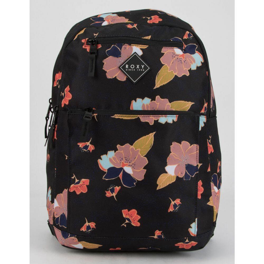 ロキシー ROXY レディース バックパック・リュック バッグ【Here You Are Floral Backpack】BLACK COMBO