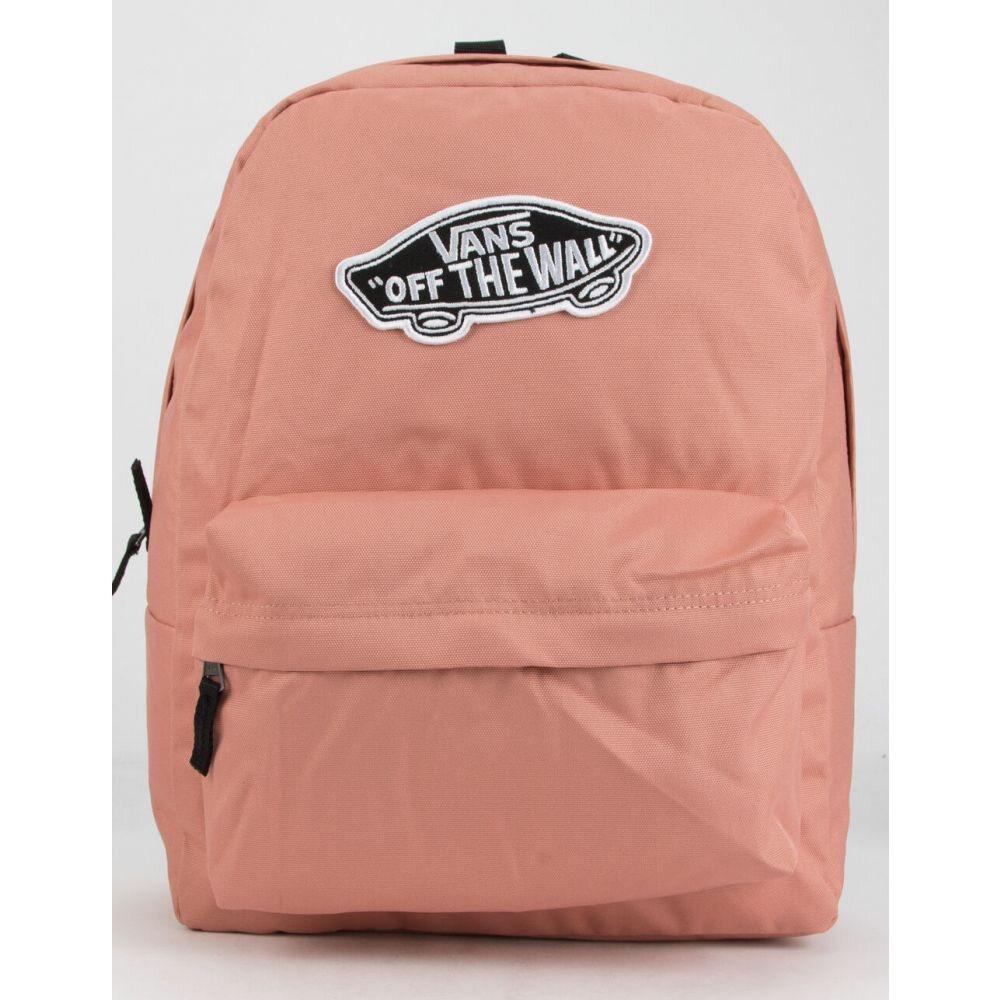 ヴァンズ VANS レディース バックパック・リュック バッグ【Realm Solid Rose Dawn Backpack】ROSE DAWN