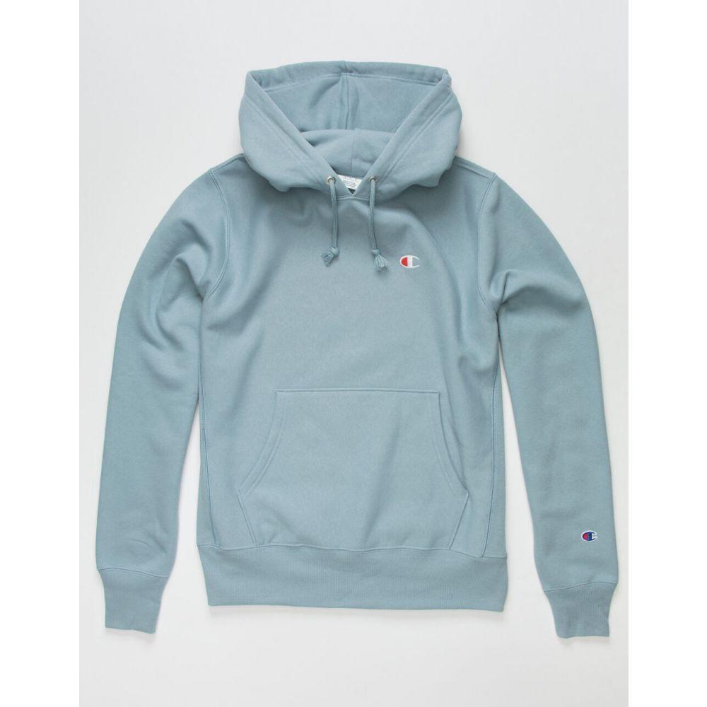 チャンピオン CHAMPION メンズ スウェット・トレーナー トップス【Reverse Weave Left C Logo Sweatshirt】SKY BLUE