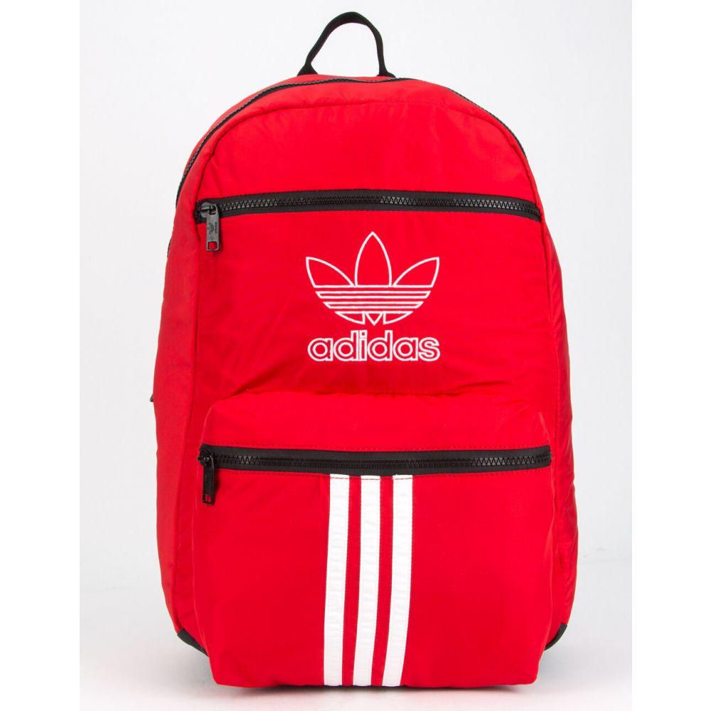 アディダス ADIDAS レディース バックパック・リュック バッグ【National 3-Stripes Red Backpack】RED