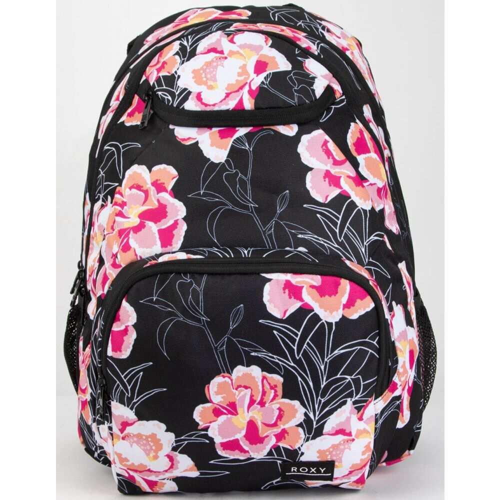 ロキシー ROXY レディース バックパック・リュック バッグ【Shadow Swell White Backpack】BLACK COMBO